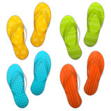 Flipflops Royalty Free Stock Photos