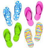 Flipflops Royalty Free Stock Images
