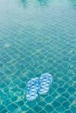 Flipflopschwimmen Stockfotografie