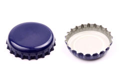Flipped bottle cap Stock Image