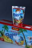 Flipper Rio d ` oro owoc doprawiał napój dla dzieci zdjęcia stock
