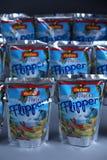 Flipper Rio d ` oro owoc doprawiał napój dla dzieci obrazy royalty free