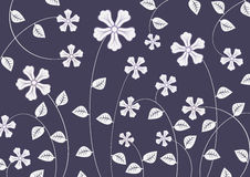 Flippige Blumen Stockfotografie