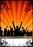Flippige Party-Masse Stockfotos