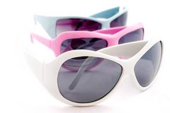 Flippige Sonnenbrillen Lizenzfreies Stockbild