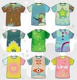 Flippige T-Shirts des Sommers. Stockfotografie