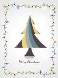 Flippige Weihnachtskunst Stockfotos