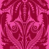 Flippiger Blumenböhmischer Art-Zigeunerhintergrund vektor abbildung
