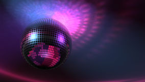 Flippiger Disco-Ball schnell (Loopable) stock video