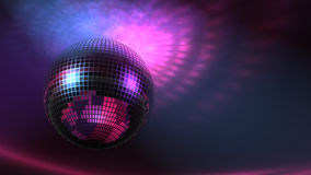Flippiger Disco-Ball schnell (Loopable) stock footage