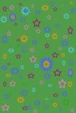 Flippiger grüner Hintergrund Stockfotos