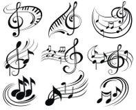 Flippiger Musik-Hintergrund