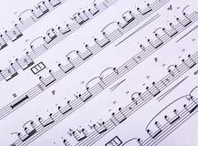 Flippiger Musik-Hintergrund Lizenzfreie Stockbilder