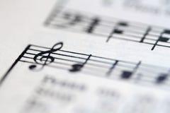 Flippiger Musik-Hintergrund Stockfotos