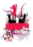 Flippiges Party-Zeichen Stockbild