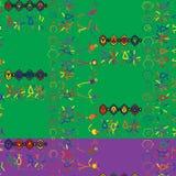 Flippiges Stammes- Muster stock abbildung