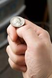 Flipping Coin Stock Photos