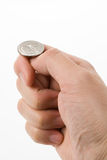 Flipping Coin Stock Photos