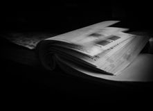 Flipping pages abstract Royalty Free Stock Images