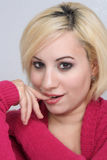 flirciarska (1) piękna blondynka Obraz Royalty Free