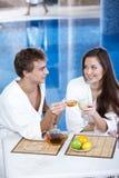 Flirt Royalty-vrije Stock Afbeeldingen