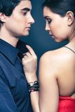 Flirt zdjęcie royalty free