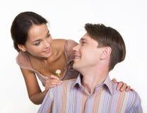 Flirt royalty-vrije stock foto's