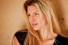 Flirt Woman Portrait Stock Photography