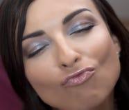 Flirtatious женщина Стоковые Фотографии RF