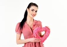 Flirti, presenti, disegni, il giorno di biglietti di S. Valentino, concetto del giorno della donna immagini stock libere da diritti
