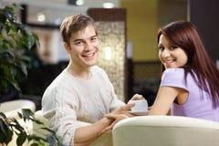 Flirting Stock Images