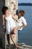 Flirting Royalty Free Stock Image