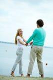 flirting Стоковое Изображение RF