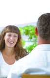 Flirting Royalty Free Stock Photography