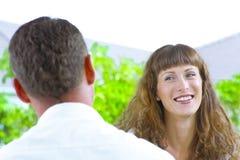 Flirting Royalty Free Stock Photos