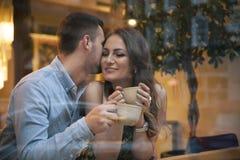 flirting fotografie stock