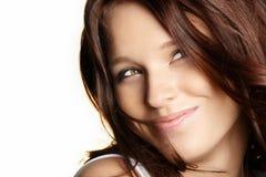 Flirting beauty Stock Image