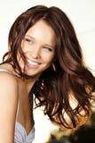 Flirting beauty Royalty Free Stock Photo