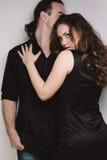 Flirting couple Royalty Free Stock Photos
