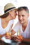 Flirting Royalty Free Stock Photography