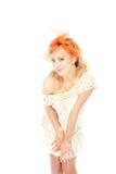 Flirting housewife Stock Image