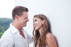 Flirting Royalty Free Stock Photo