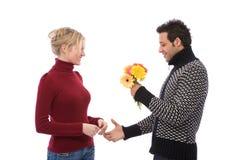 flirtowanie obraz stock