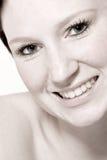 flirtowanie portret kobiety studio young zdjęcie stock