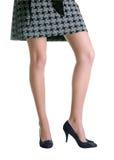 flirty ноги Стоковая Фотография