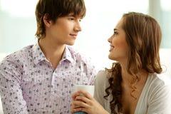 Flirty look Royalty Free Stock Photography
