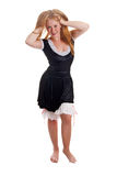 Flirty maid Stock Photography