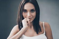Flirty seductress Stock Fotografie