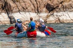 Flisactwo i kayaking Popularny miejsce dla, szkolenie dla atlet as well as Zdjęcie Royalty Free