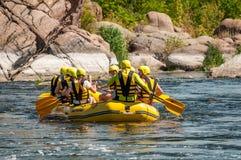 Flisactwo i kayaking Popularny miejsce dla, szkolenie dla atlet as well as Zdjęcie Stock
